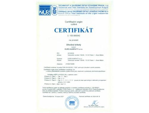 Європейський сертифікат якості